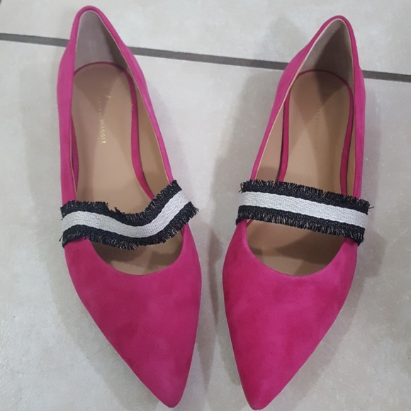 Anthropologie Shoes - Anthropologie pink flats